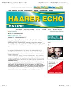 Mischpoke Haarer Echo 1